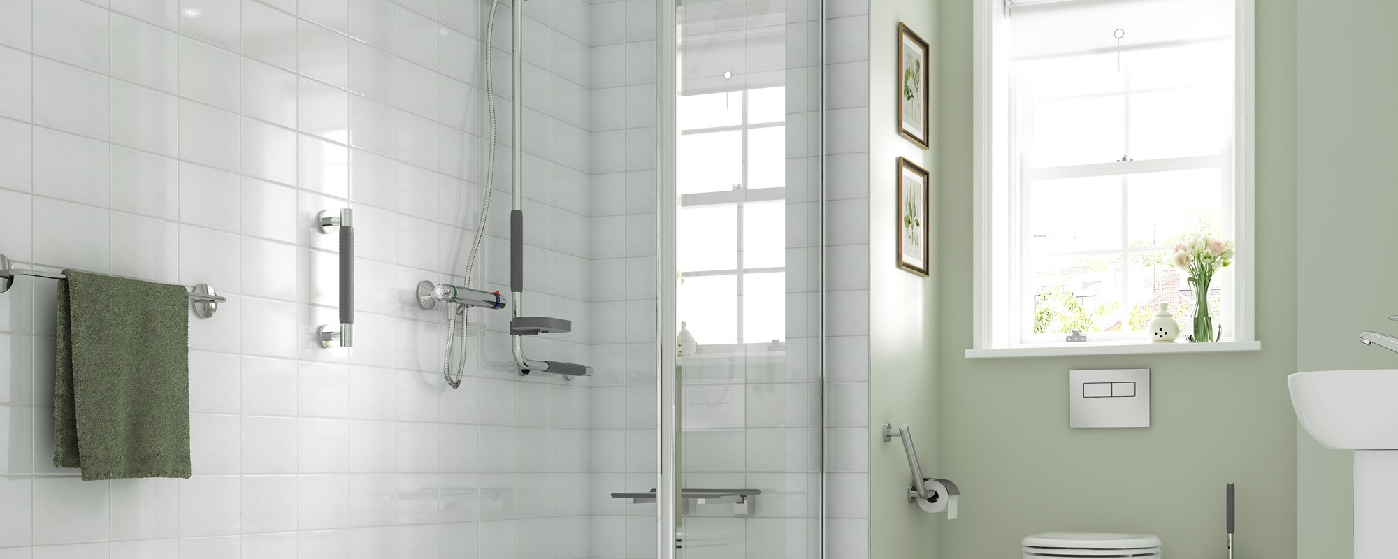 Easy Access Showers for Independent Living