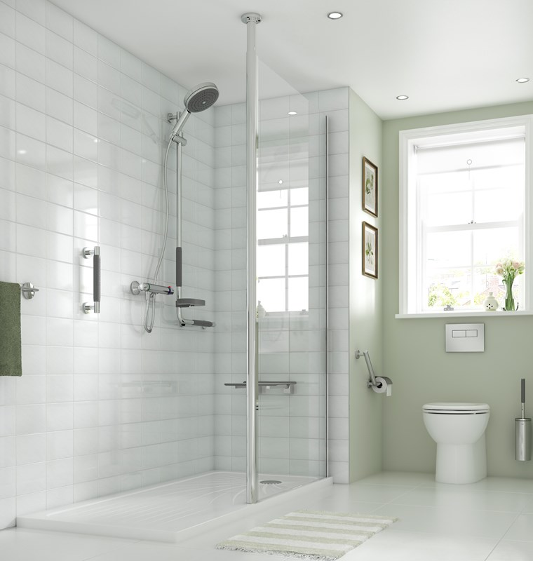 Wetroom level access disabled showering specialist impey the wetroom specialist for Patete kitchen bath design center reviews
