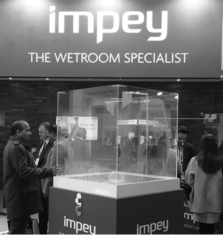 Impey Wetroom Show Stand History