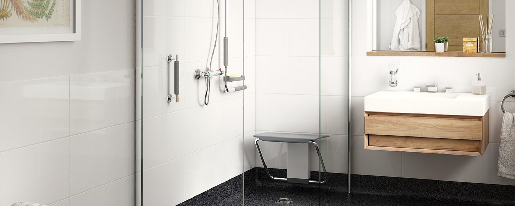 Accessible Shower For Care and Retirement Homes | Impey, The Wetroom ...