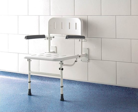 Deluxe Fold Down Shower Seat (S1)