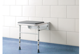 Padded Fold Down Shower Seat