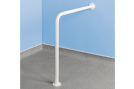 Wall to Floor Shower Rail